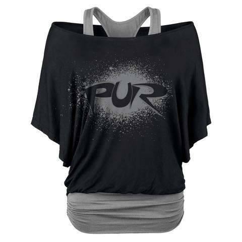 Sprayed Logo von Pur - Double Layer Top jetzt im Pur - Shop Shop