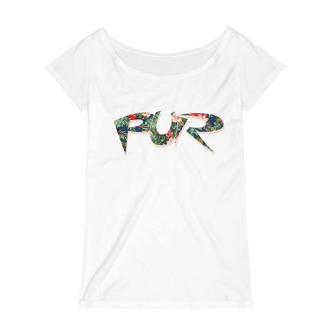 Flower Logo von Pur - Damen Shirt jetzt im Pur - Shop Shop