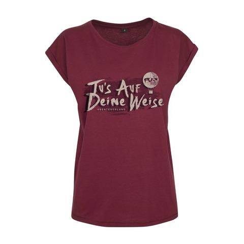 Lyric Shirt - Tus auf deine Weise by Pur - Girlie Shirt - shop now at Pur - Shop store